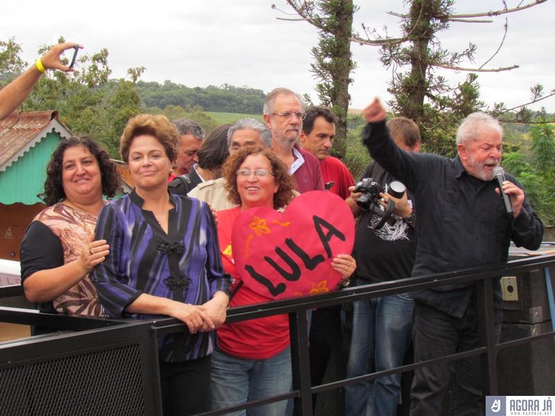 Resultado de imagem para fotos de Lula hoje em Panambi no RS